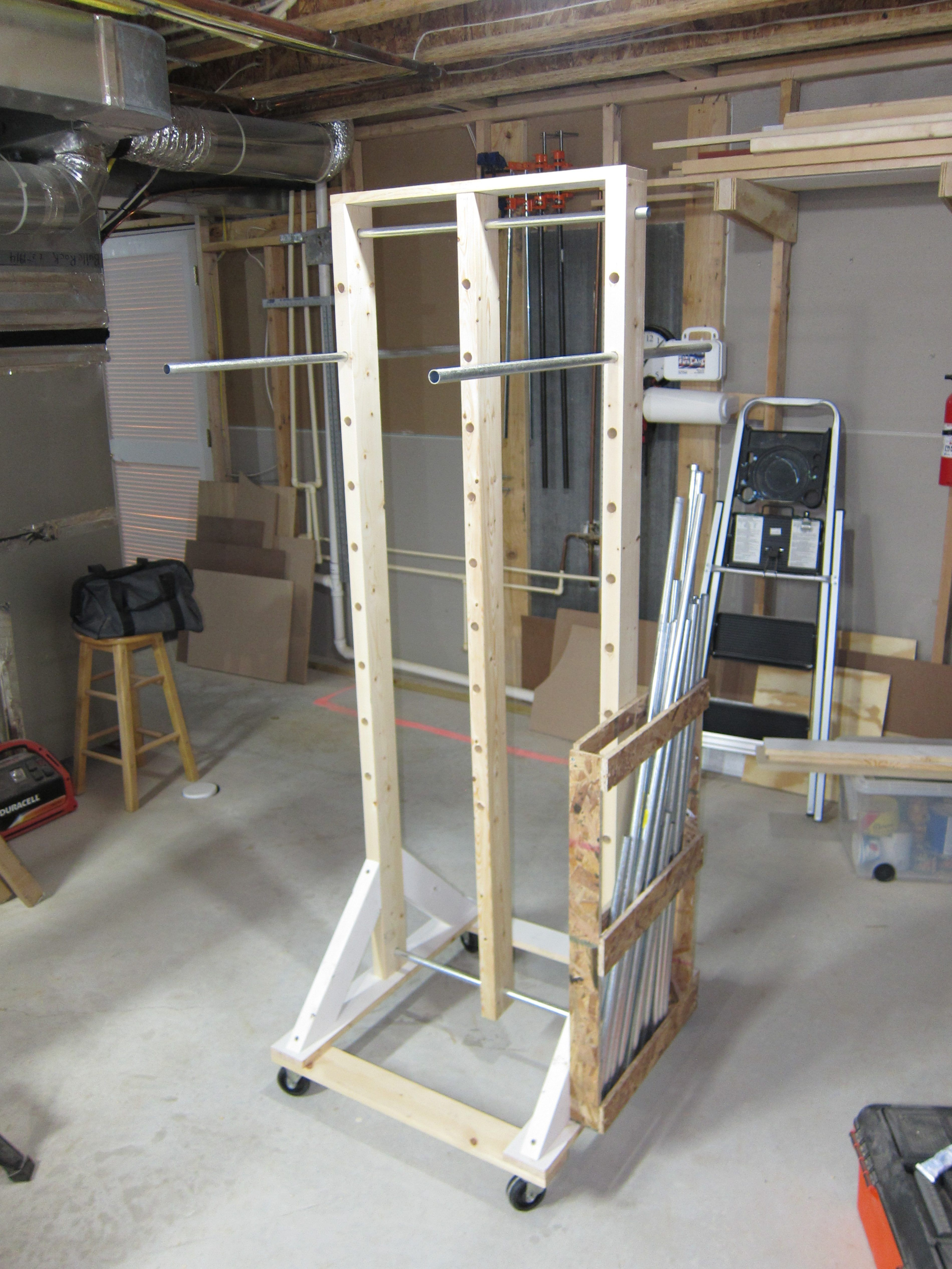 Cabinet Door Drying Rack And Wood Sign Drying Rack