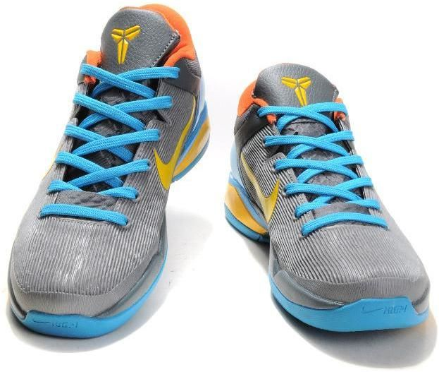 huge discount 040c4 859e6 httpwww.asneakers4u.com Nike Zoom Kobe 7 VII GreyYellowBlue
