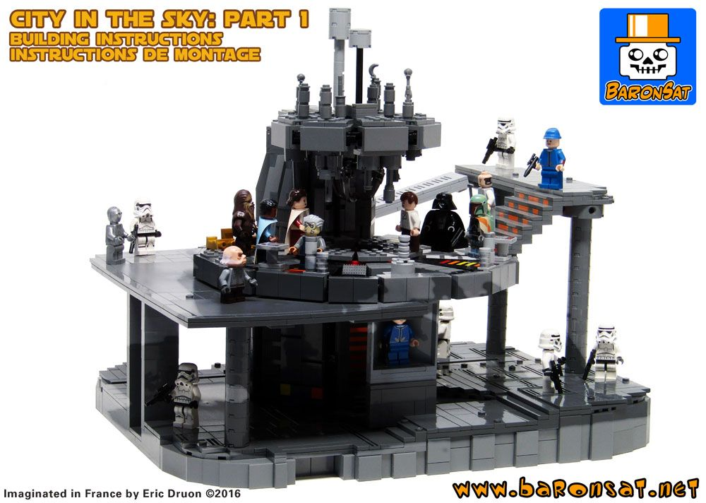 Lego Building Instructions Cloud City Bespin Custom Moc Part 1 Lego Building Instructions Big Lego Lego