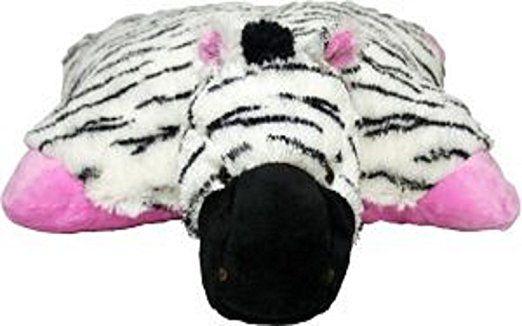 Pillow Pets 11 Inch Pee Wees Zippity Zebra Animal Pillows Plush Pillows Fluffy Pillows
