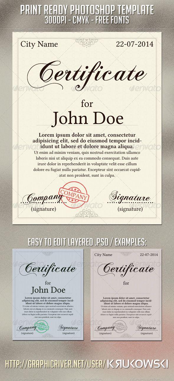 Certificate Template Achievement Antique Award Bla N2