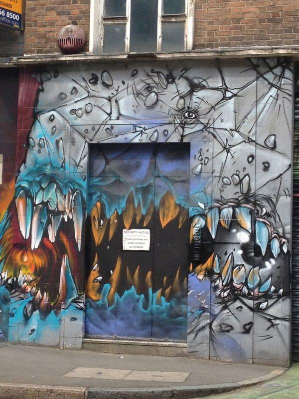 Shoreditch Graffiti: Art, Graffiti, Street Art