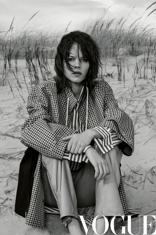 Vogue China July 2017   Collier Schorr - Photographer  Freja Beha Erichsen - Model