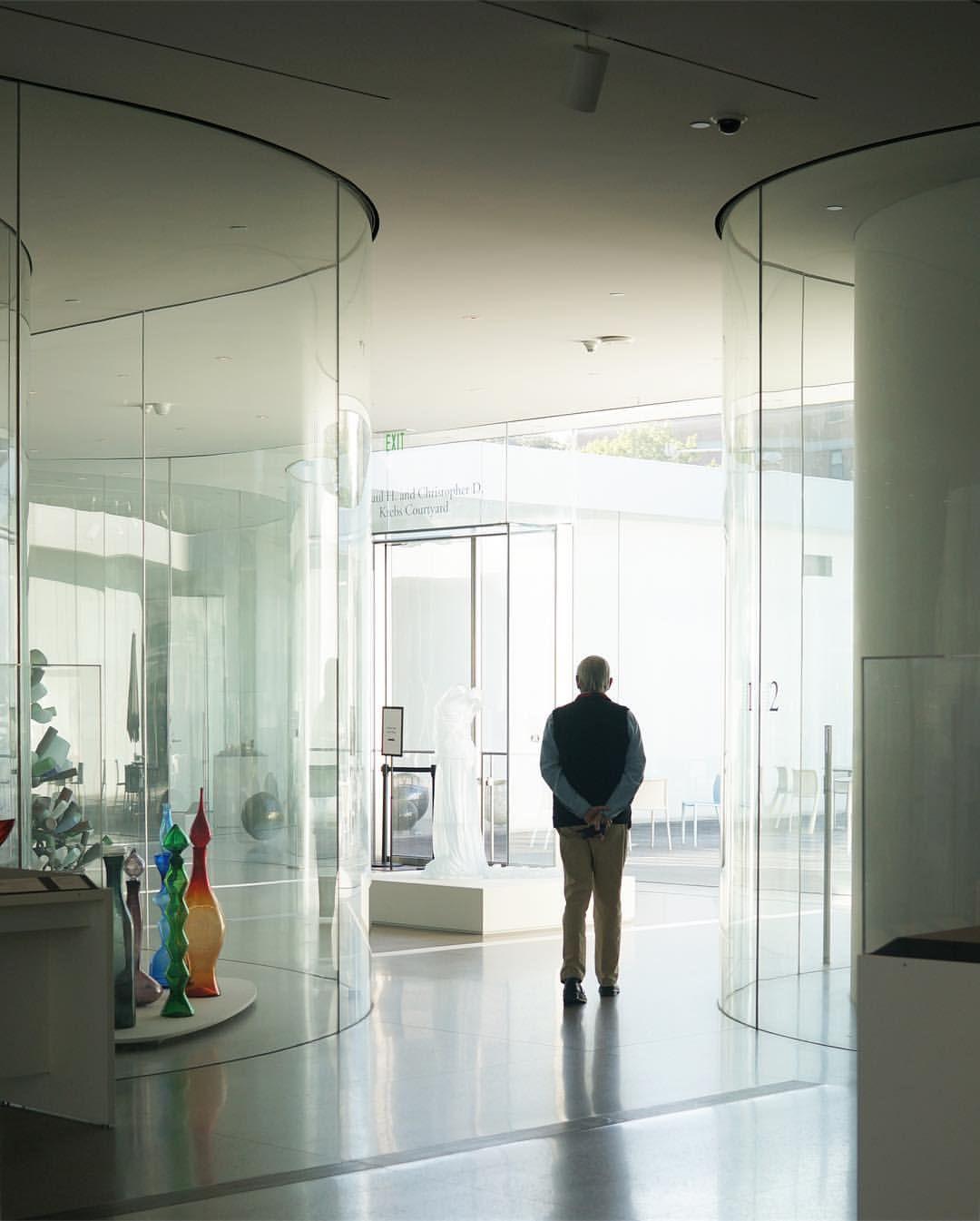 トレド美術館ガラスパビリオン。...