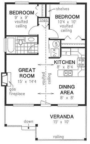 House Plan No.135244 House Plans by WestHomePlanners.com---wrap the ...