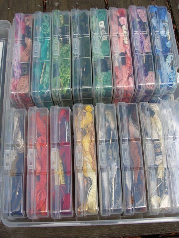 Papercraft Crafting Supply Organization Floss Storage