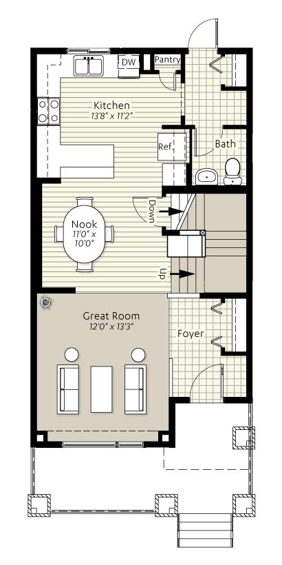 Kendal Urban Loft | Excel Homes Calgary | My Dream home (Kendal ...