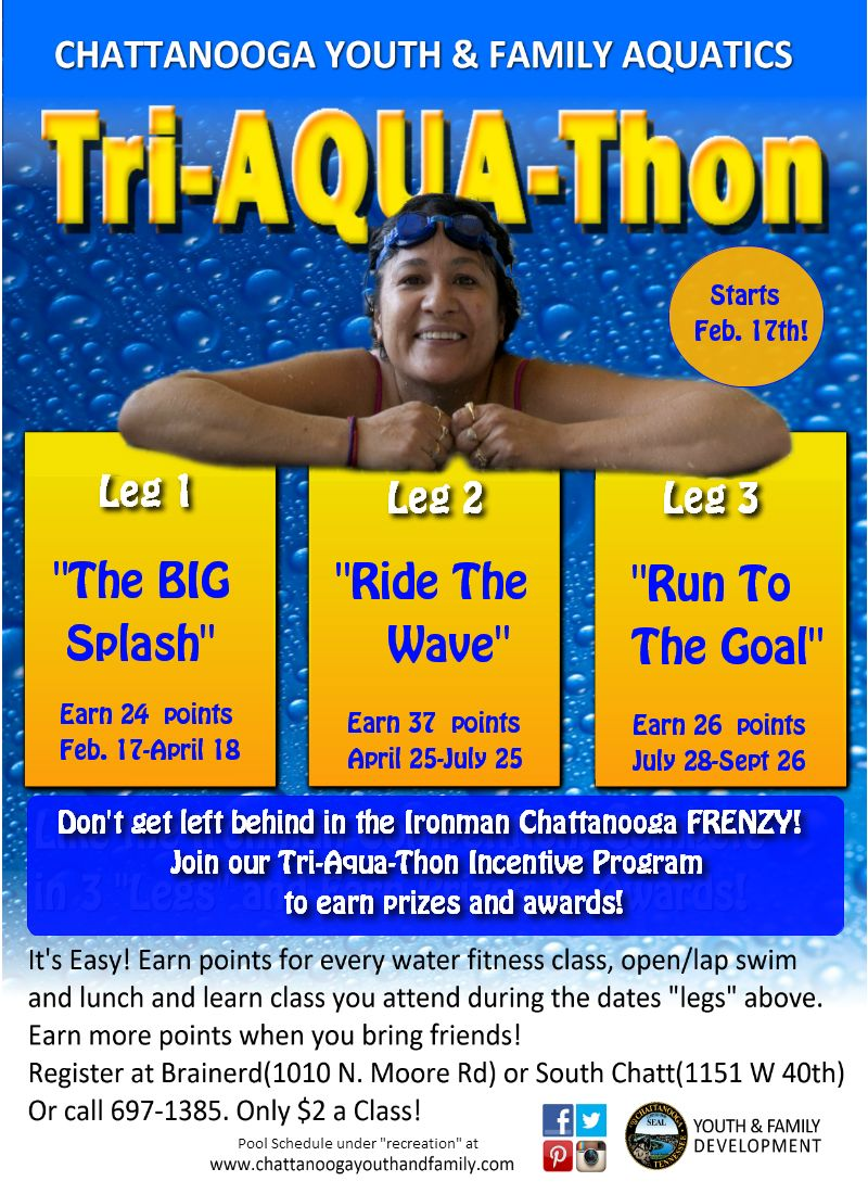 Our First Ever TriAquaThon! Full pool schedule here