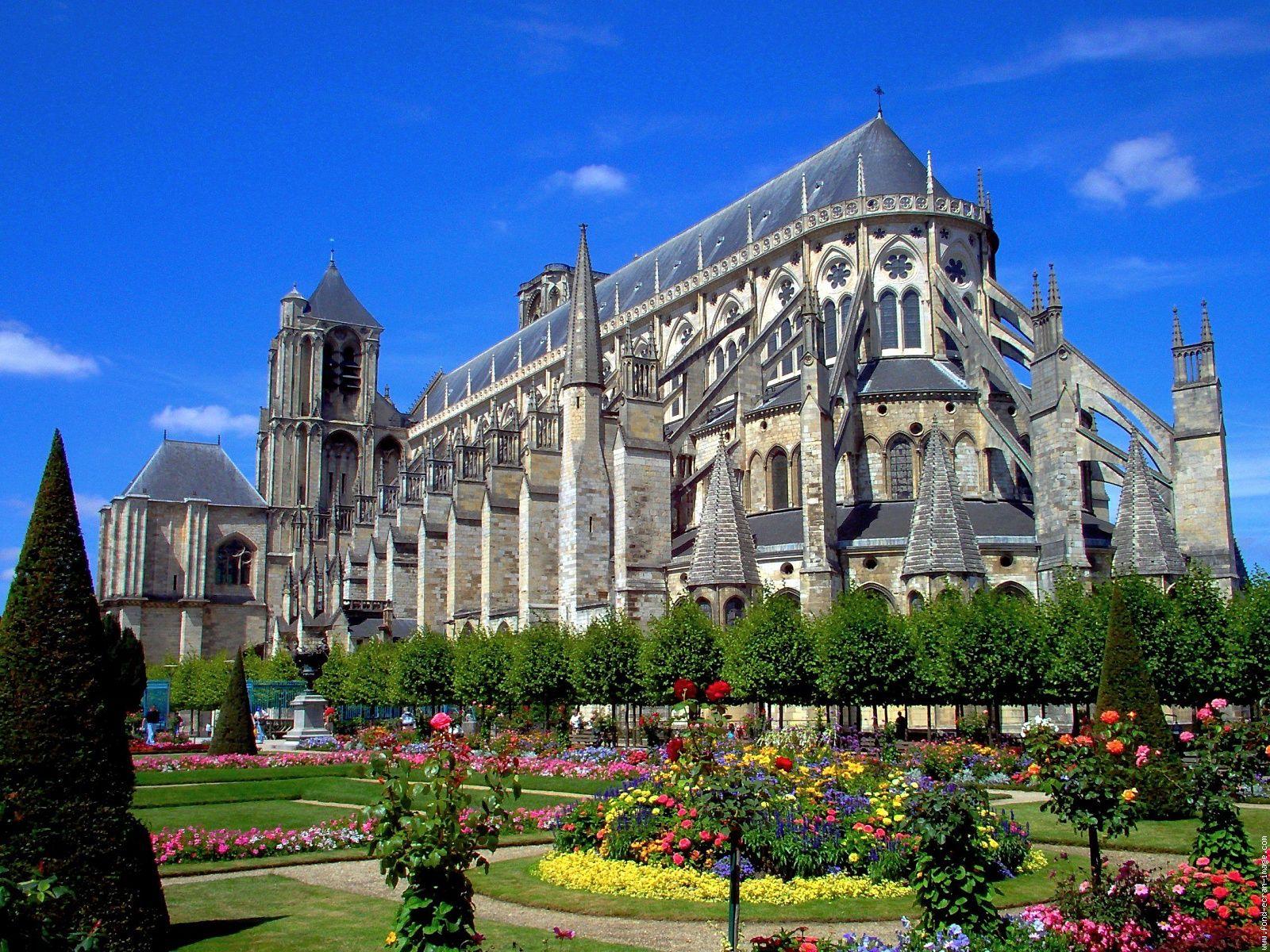 la cathedrale saint etienne de bourges