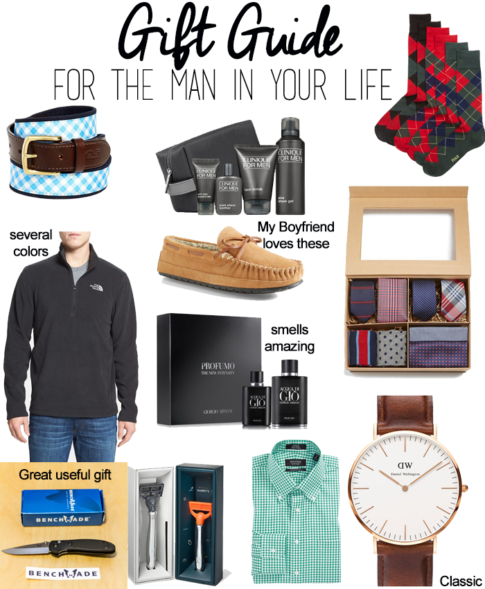 Gift Guide For The Man In Your Life Gifts Gift Guide Classy Men