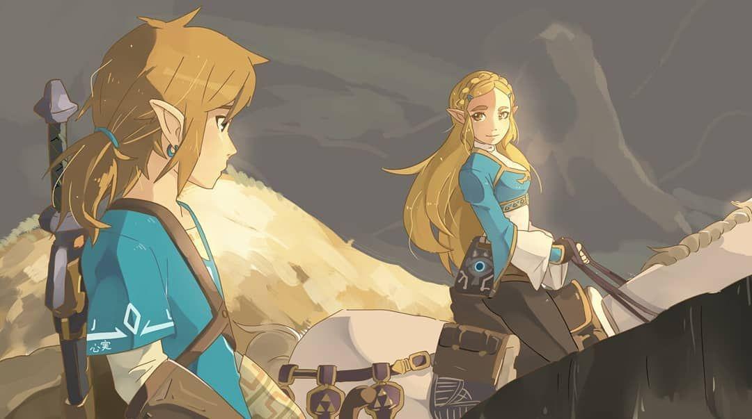 Art Hanekaramel On Tumblr Legend Of Zelda Breath Of The