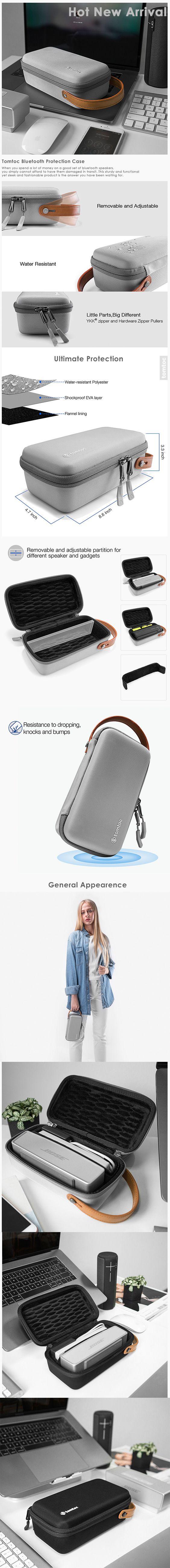 Travel Zipper Case Cover Bag Protective For JBL Flip4 Wireless Bluetooth Speaker