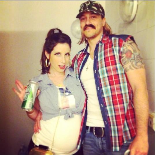 Redneck couple costume Shlomit Ofir Let's Dress Up