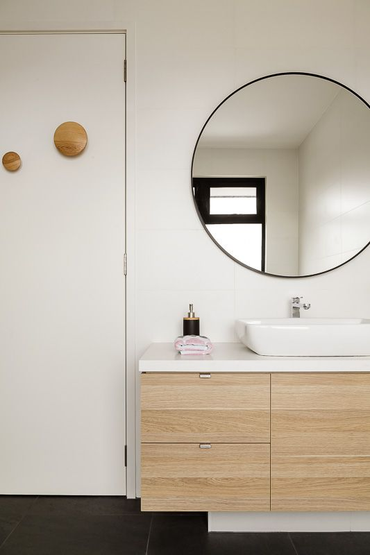 Beautiful Bathroom Round Mirror Cabinet
