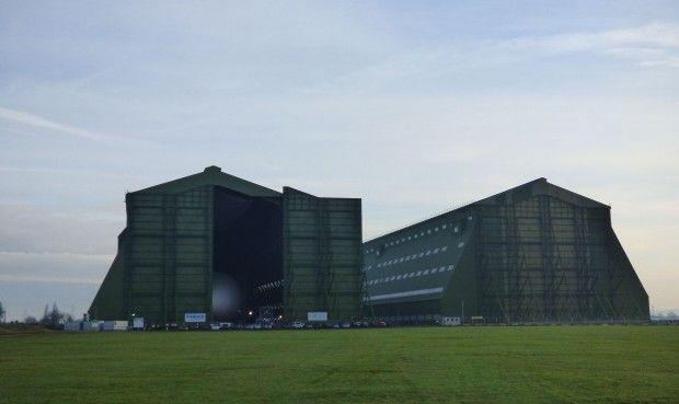 HAV nutzt einen Hangar auf dem ehemaligen Militärflughafen Cardington, wo schon…