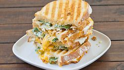 Jalapeno Popper Grilled Cheeseby Jo Cooks.