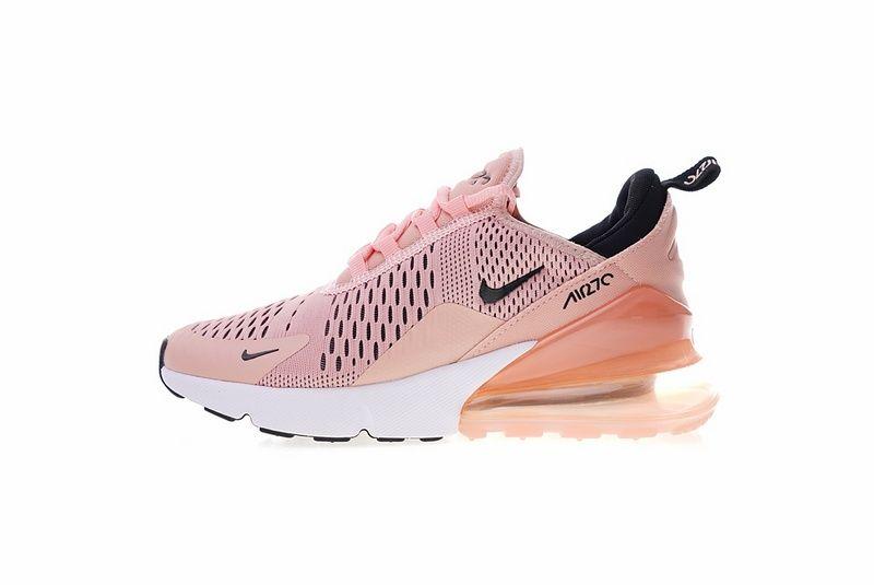 41ab63e0f184 Really Cheap Nike Air Max 270 Shoes Coral Stardust Black Summit White  Ah6789 600