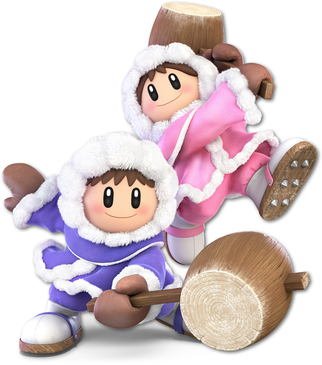 Ice Climbers In Super Smash Bros Ultimate Smash Bros Super Smash Bros Characters Super Smash Bros