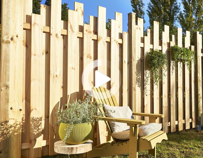 37+ Amenagement jardin palissade bois trends