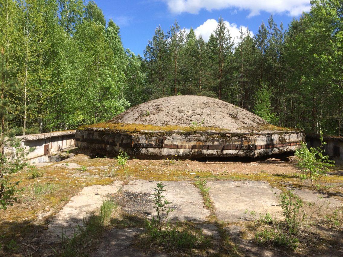Abandoned soviet rocket base in latvia tirza