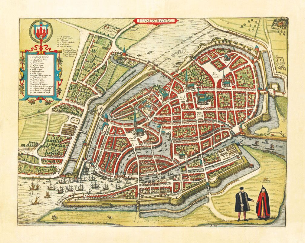 Mapa Hamburga Amazing Maps Of Medieval Cities Maps Map City Maps Medieval