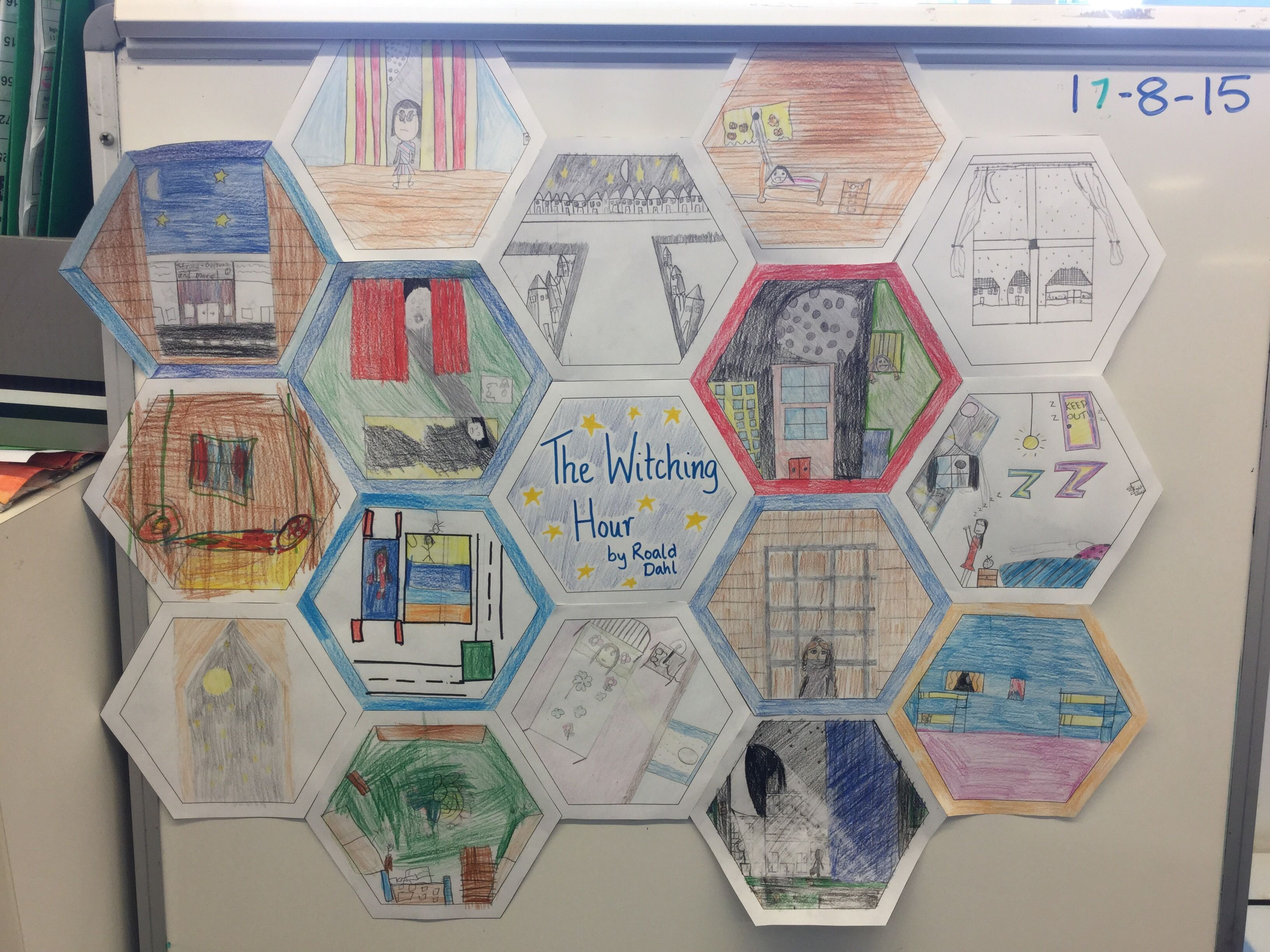 Visualising Quilt Read Books Passage Poem And As Students To Draw A Picture Of What They