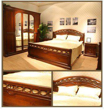 Meubles classiques de chambre coucher lit classique moderne lit en bois maison de bella Meuble classique