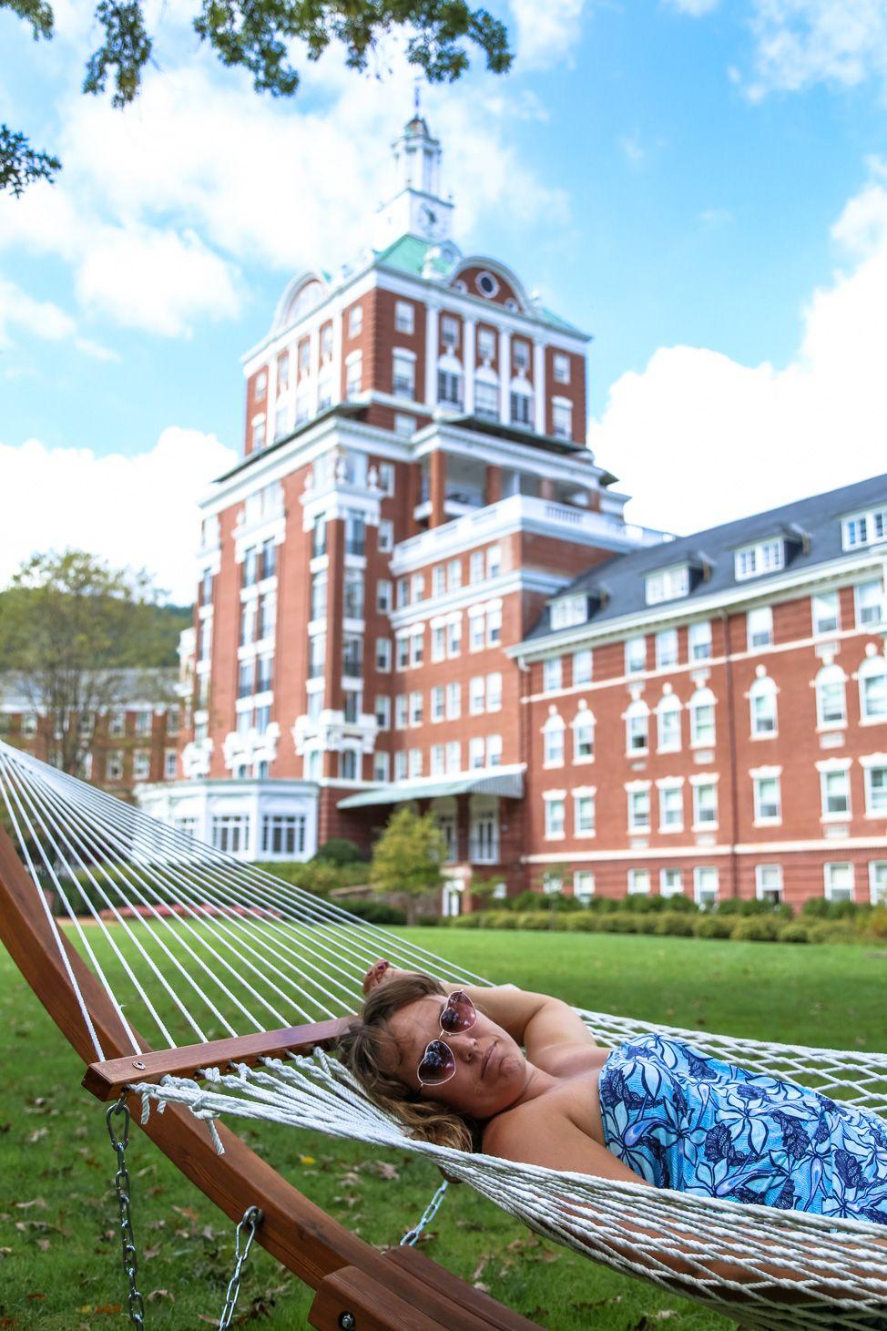 Kicking Back At Virginia's Iconic Homestead Resort