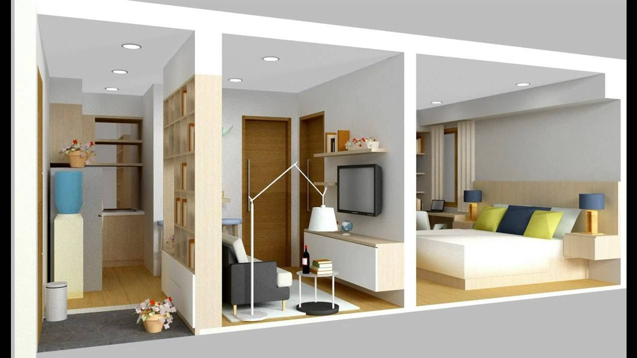 Desain Interior Rumah Minimalis Type 36 Youtube In 2020 Home Interior Design Home Minimalist House Design