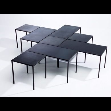 Caravane Table Basse Contemporaine Table Basse Metal Table Basse