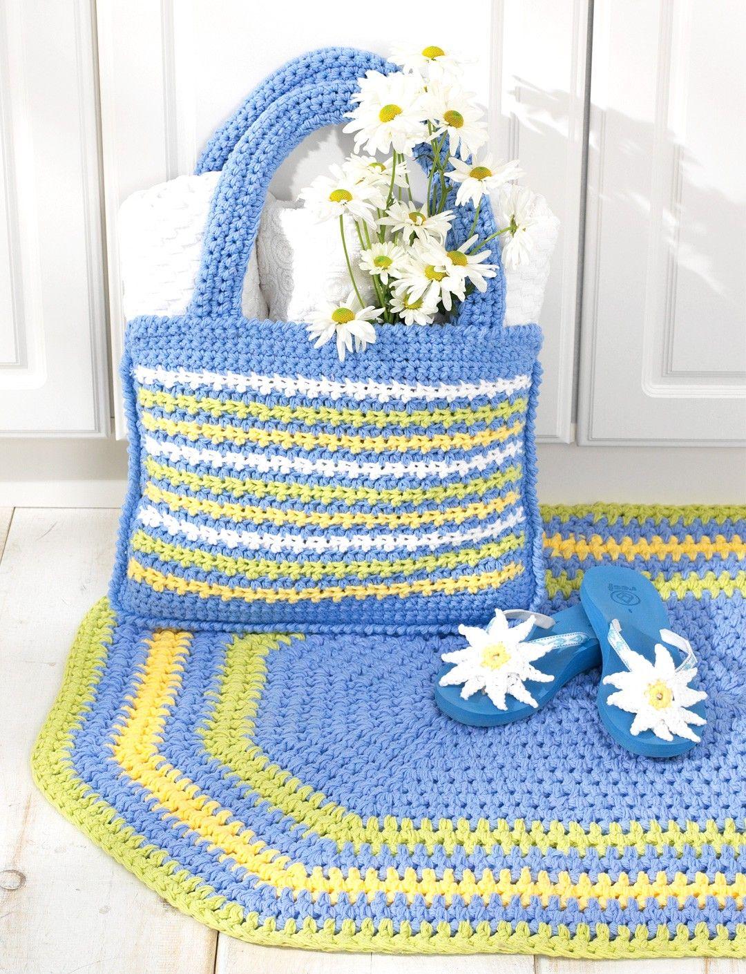 Bernat Oval Rug - Free Pattern   Yarnspirations   free crochet ...