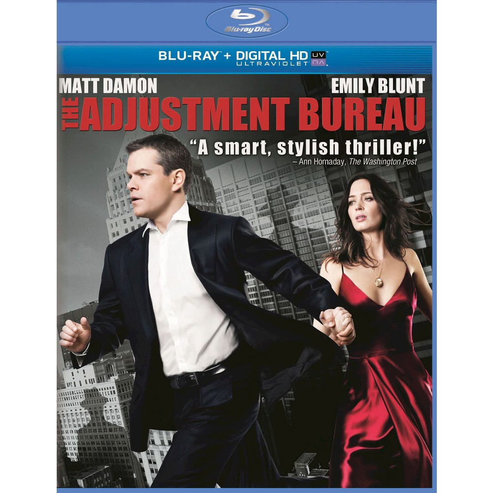 A Man Apart Blu Ray Upc: The Adjustment Bureau [Includes Digital Copy] [UltraViolet