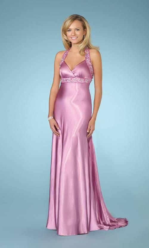 10  images about Dresses ~ Satin on Pinterest - Pink satin dress ...