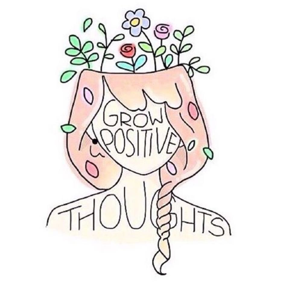 Grow Positive Thoughts Words Quote Positivity With Images