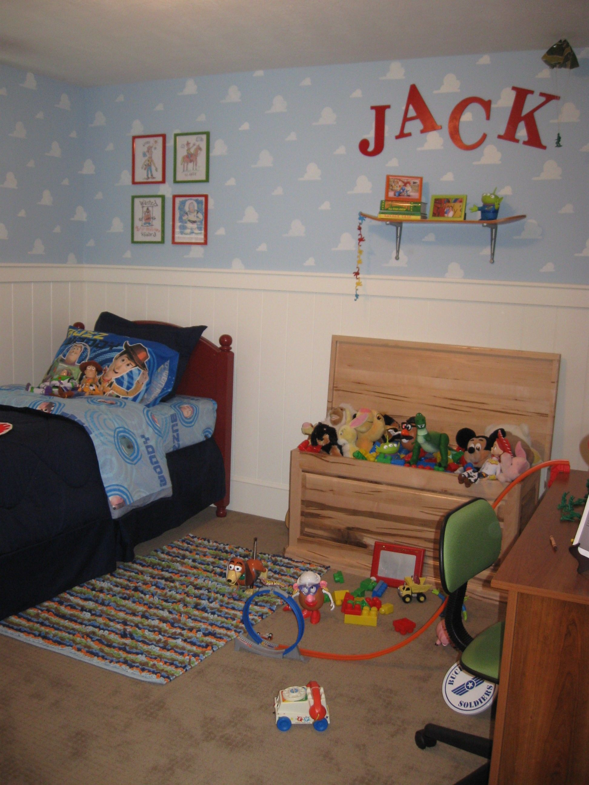 Toy Story Room Brody would love this Maybe for the playroom