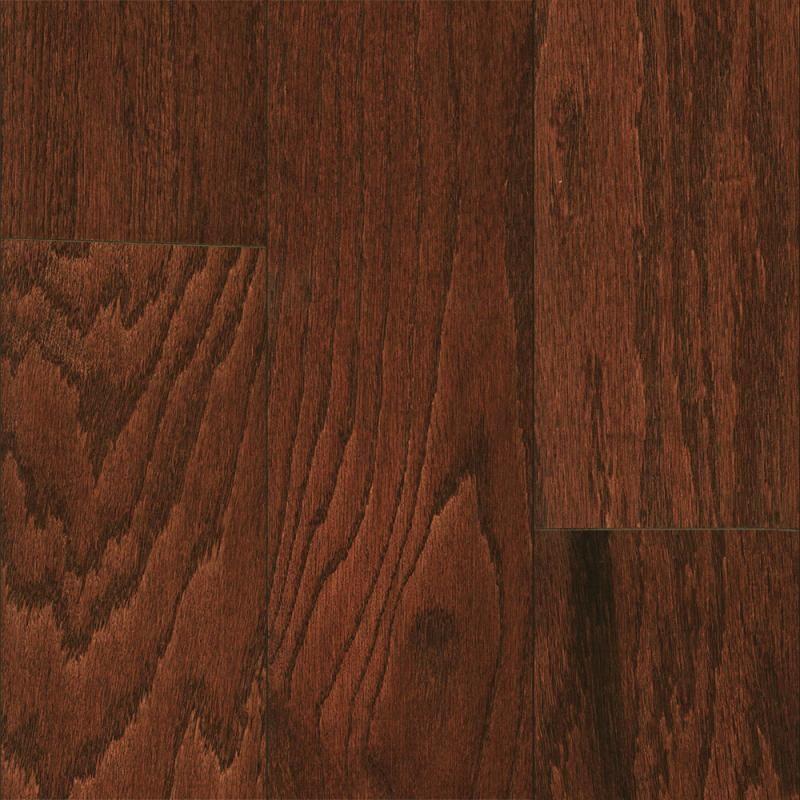 "1000 Columbia Flooring Plank Henna Red Oak 5"" Engineered"
