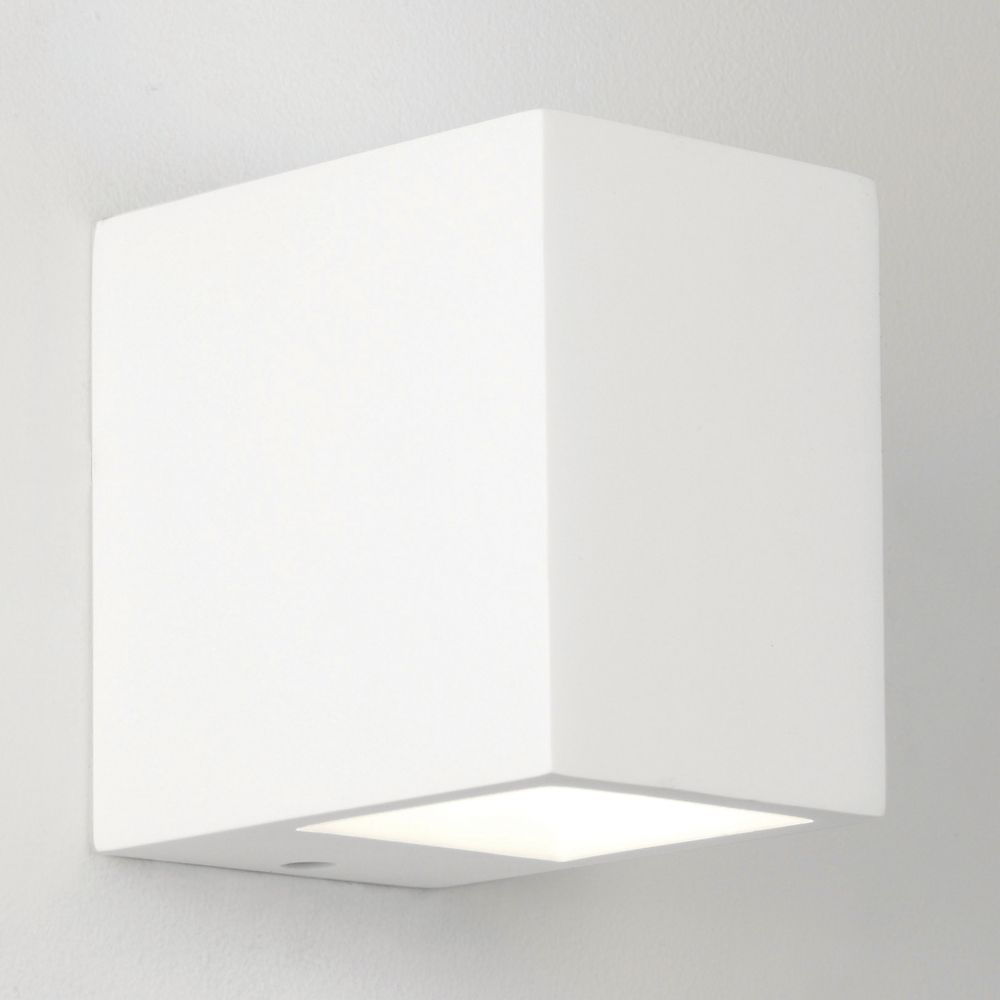 Astro Lights Mosto White Plaster Up And Down Wall Light With Images Wall Lights Plaster Wall Lights Plaster Walls