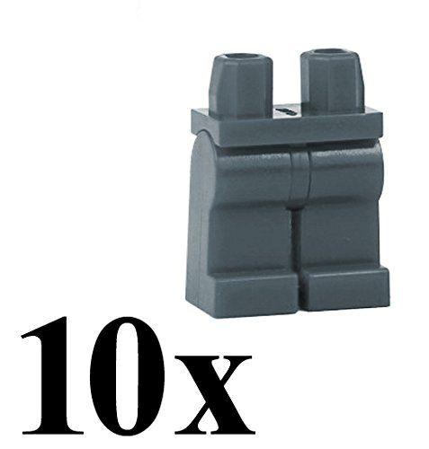 Lego 10x Dark Grey Hand//Dark Bluish Gray Hands for Minifig NEW