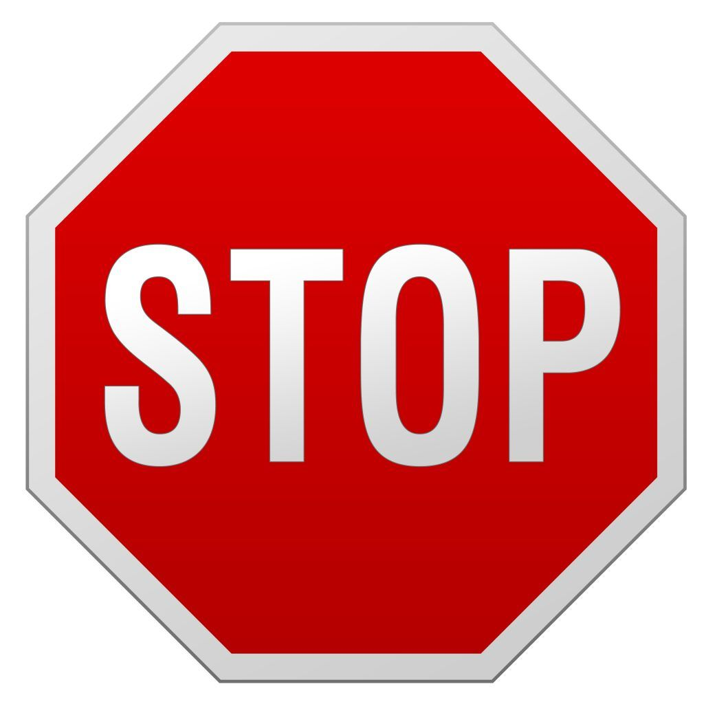 Printable Stop Sign stick on foam cut out and glue on stick at the
