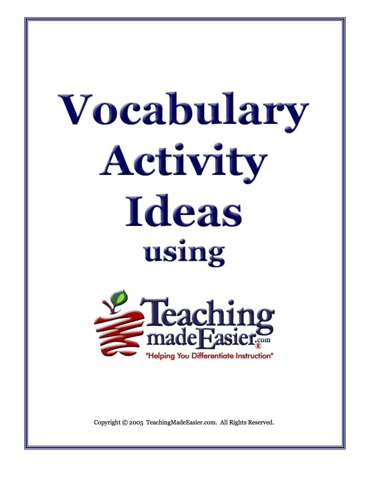Pin By Teachingmadeeasier On Teaching Made Easier