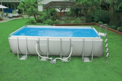 Pin On Intex Rectangular Ultra Frame Pool