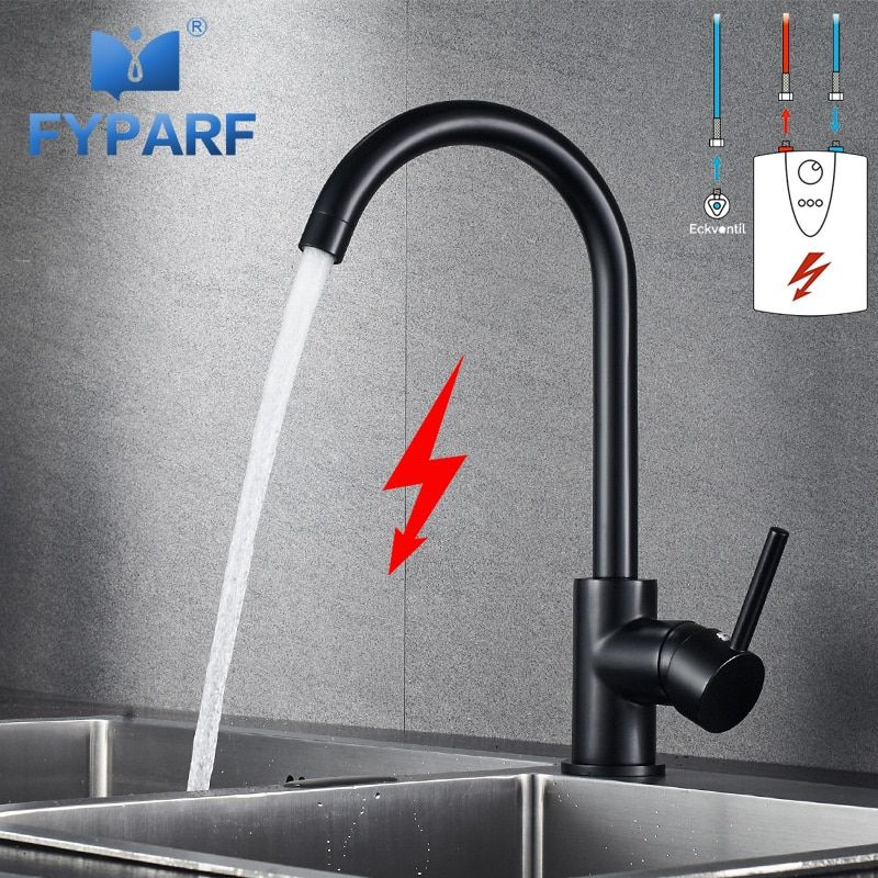Fyparf Mixer Kitchen Faucet Tap Low Pressure Kitchen Mixer Water