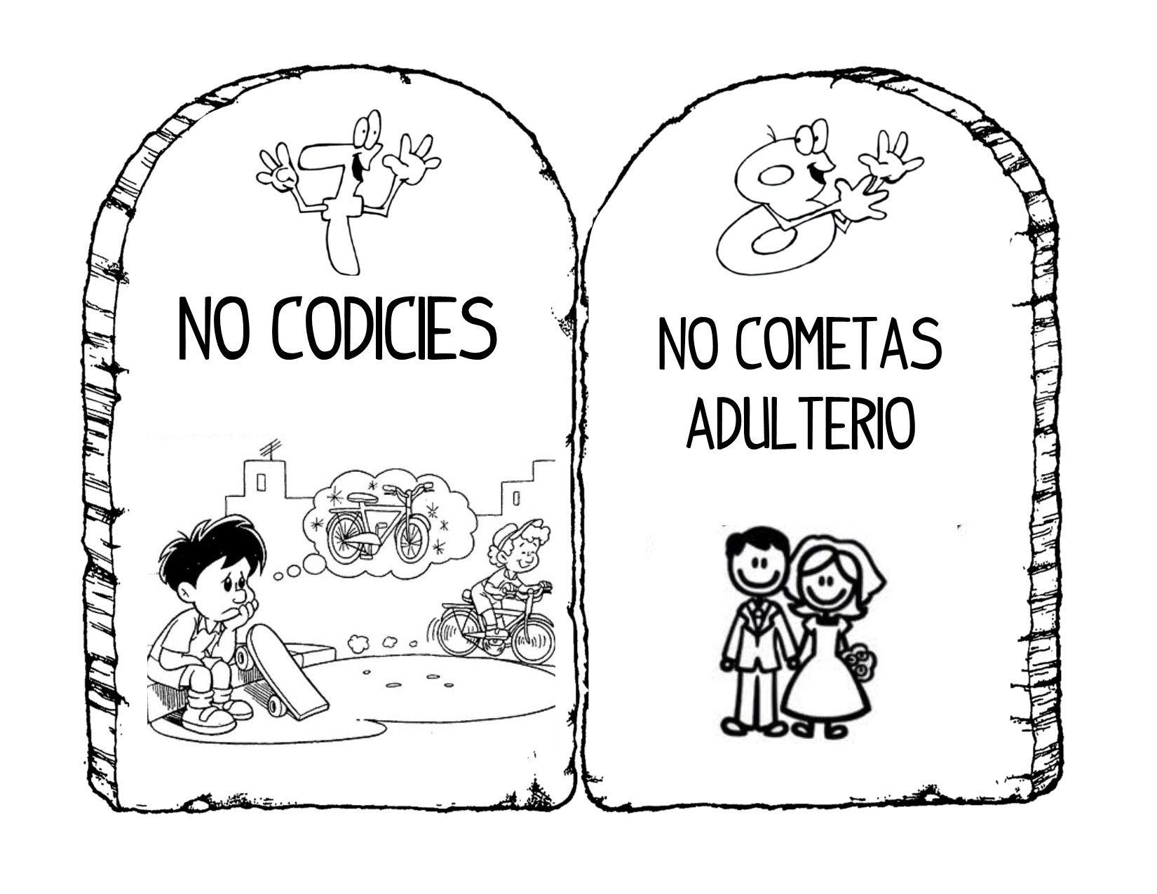 Todo Ministerio Infantil: Enseñando a los niños Los Diez ...