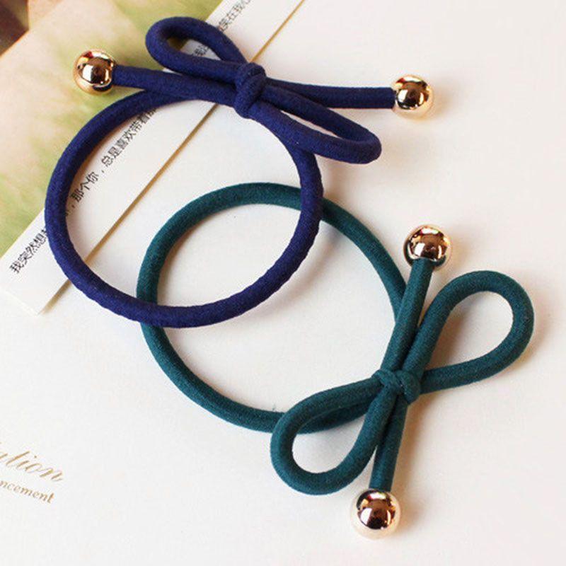 Hair Ring Hair Rope Elastic Braided Tonytail Wrap Hairband Fastening Accessories
