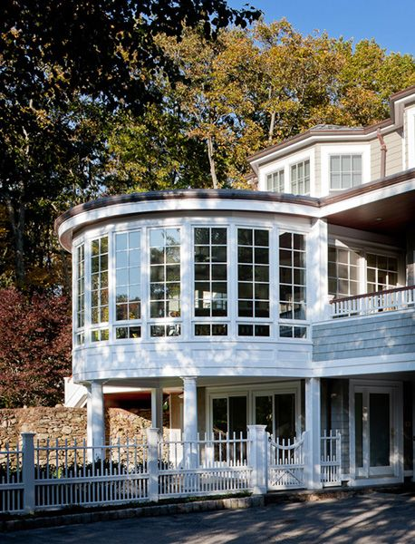 Inspirational Second Story Sunroom