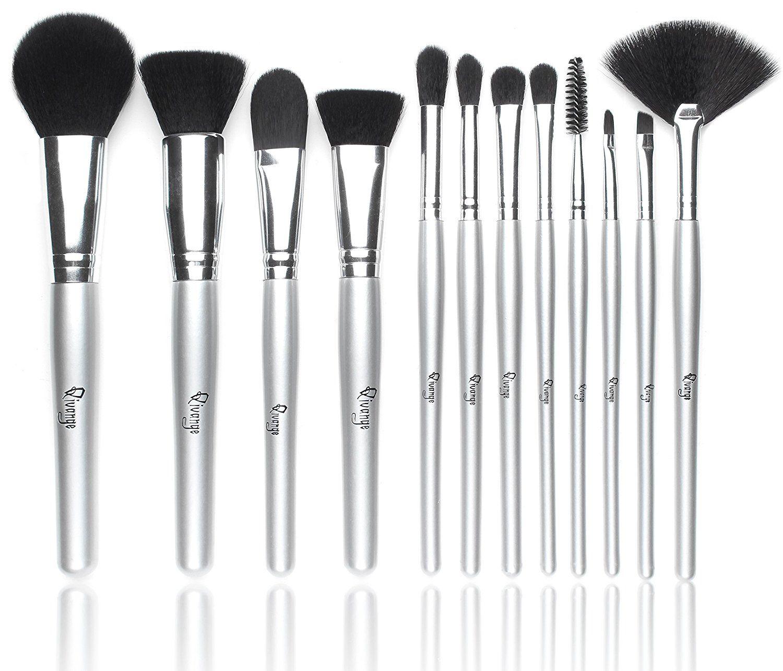Qivange Makeup Brushes, Synthetic Makeup Brush Set