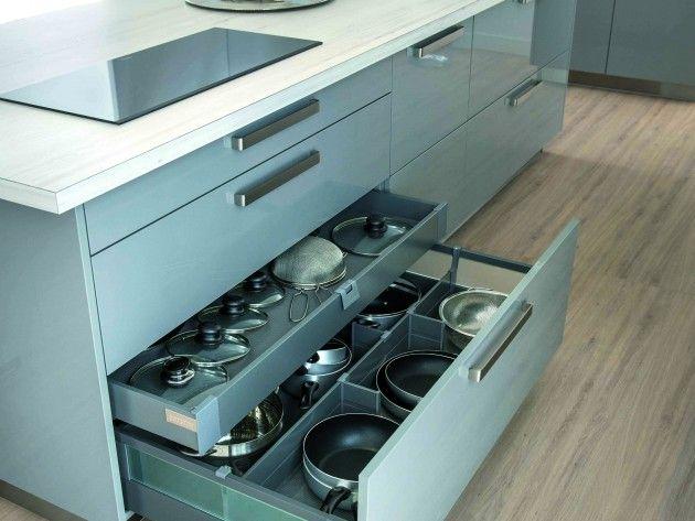 Aménagement Dun Espace Design De Cuisine Et Rangements Idées - Cuisiniere vitroceramique pour idees de deco de cuisine