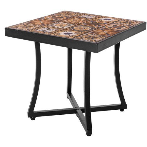 Wrought Iron Patio End Tables