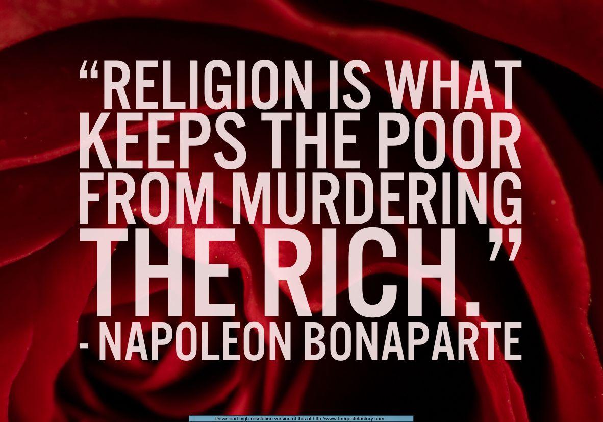 Napoleon Bonaparte Quote Napoleon Bonaparte