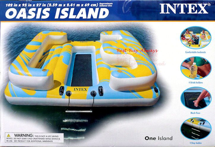 Awesome Intex Oasis island Inflatable Costco